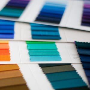 Farbkarte zur Farbberatung